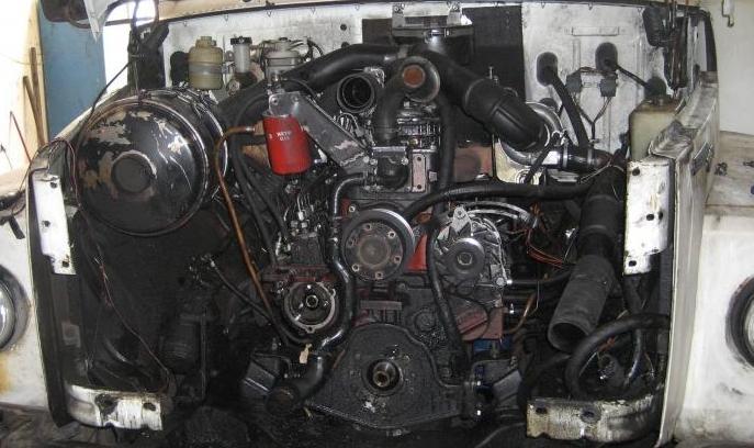 фото двигатель ГАЗ-3307