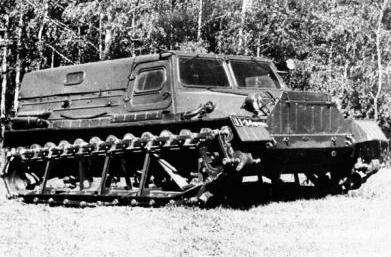 гусеничные транспортеры газ 47