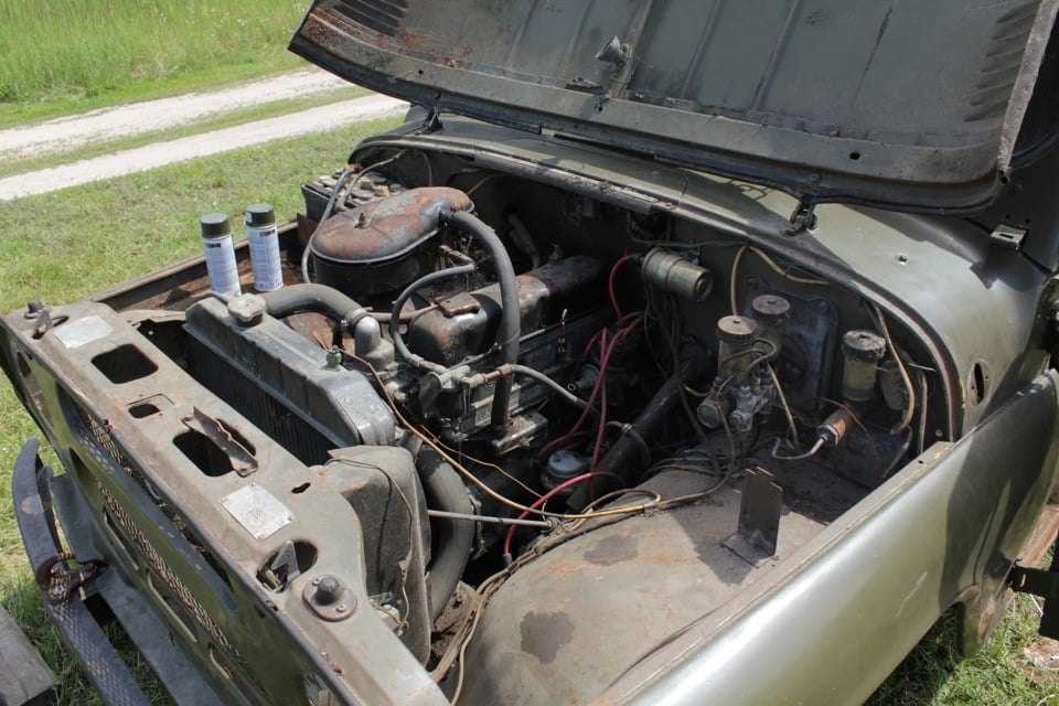 фото моторный отсек УАЗ-469