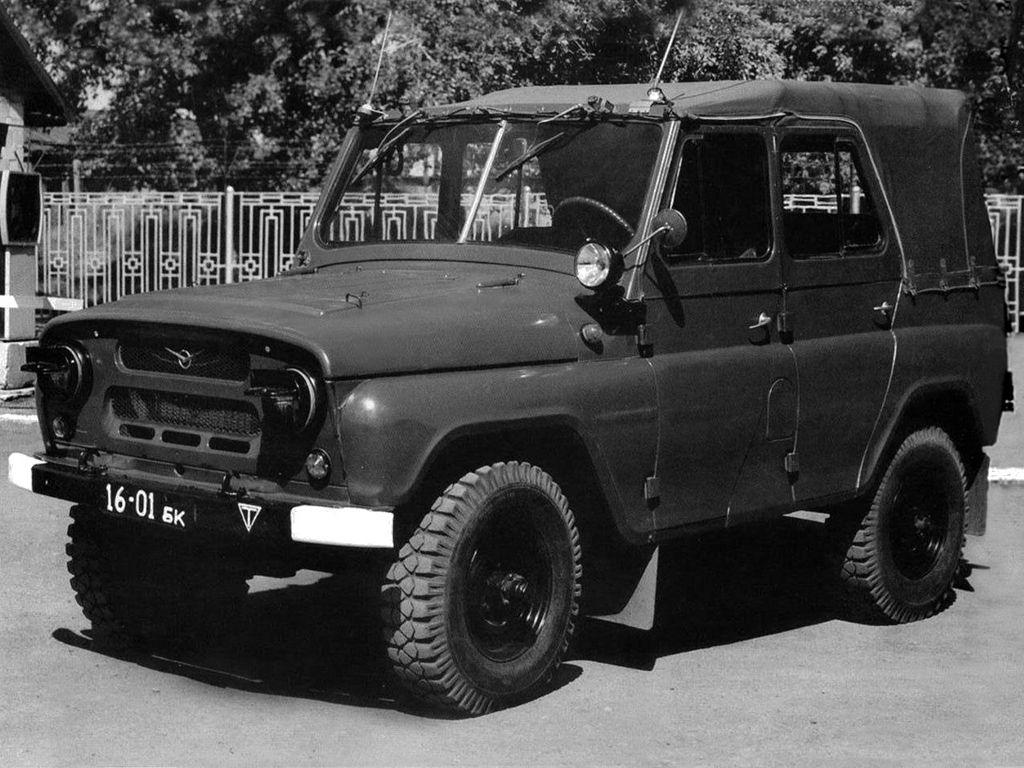 фото УАЗ-469 парадный