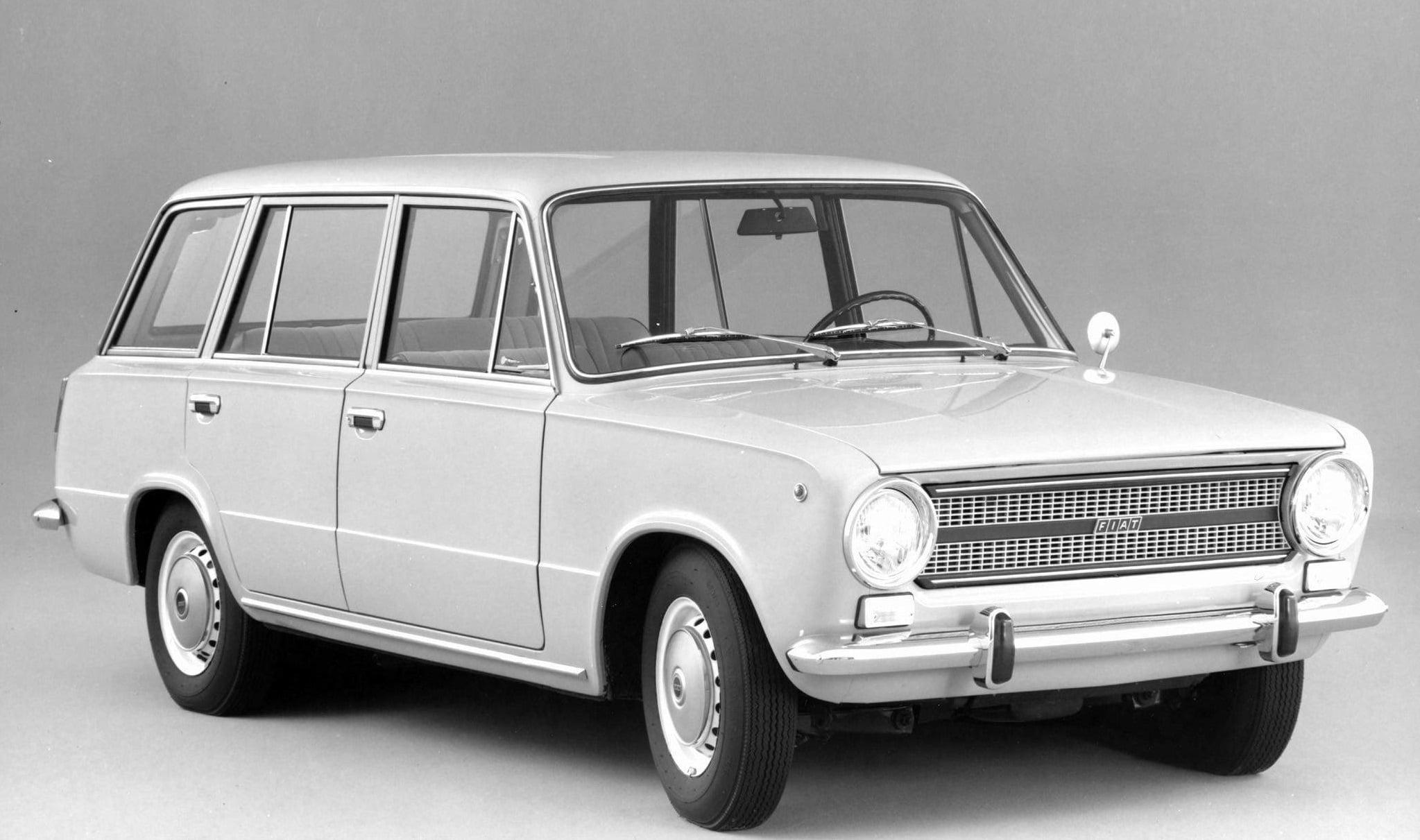 фото FIAT-124 Faniliare 1966 г
