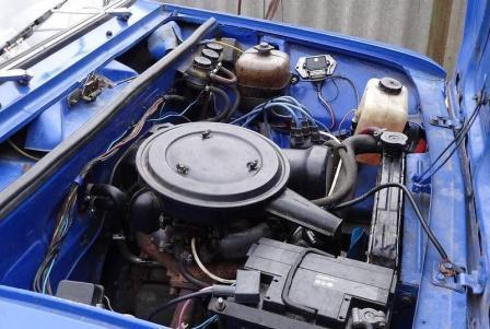 фото ВАЗ-2102 двигатель