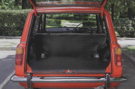 фото ВАЗ-2102 багажник