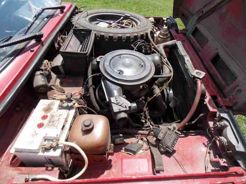 Двигатель ВАЗ-2121